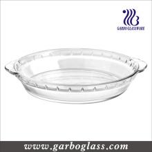 Plato de hornear de vidrio resistente al calor (GB13G21285)