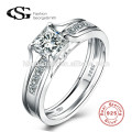 Hot sell 925 Sterling Silver Designs Bridal Engagement Wedding Sterling Silver Ring Gift