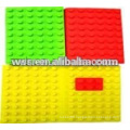 molded silicone rubber mat