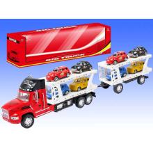Camión de juguete de vehículo de niños de gran fricción de Navidad con 8 coches pequeños para niños (10206796)
