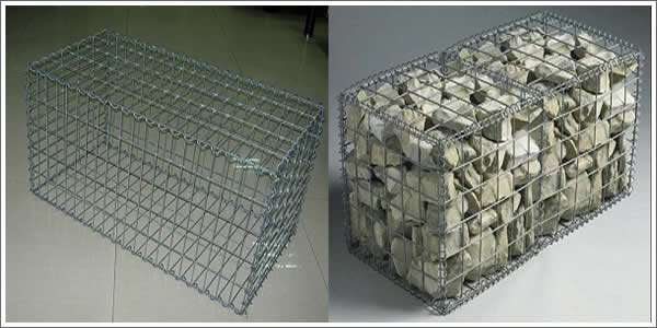 welded wire gabion box mesh