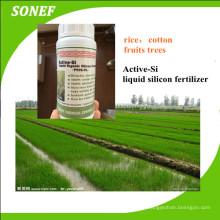 Líquido Orgânico Si Si-Silício Fertilizante para Algodão / Arroz / Trigo