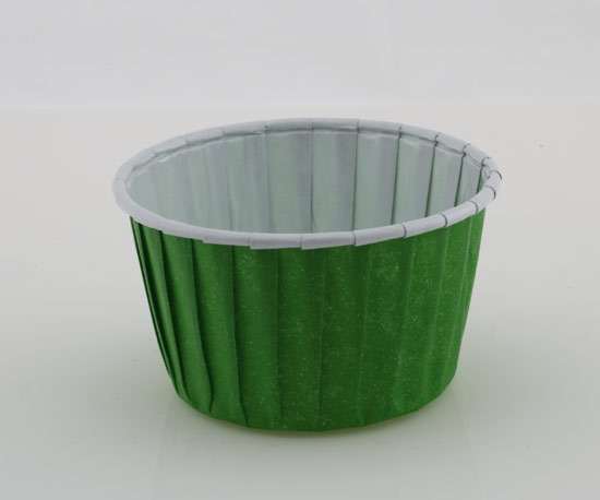 Baking Cup with Roll Edge