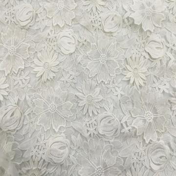 Молочная Пряжа 3D Ткань для Вышивки Цветов Ручной Работы