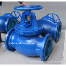 Carbon Steel Worm Gear Globe Valve
