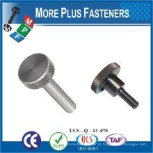 Taiwan Latão Aço Inoxidável Ranurado 8-32 x 3/4 L Parafuso De Cabeça Moleado Parafuso De Parafuso Curado Decorativo