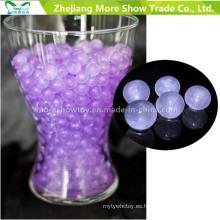 Purple Glitter Crystal Soil Water Beads Centros de mesa Decoraciones de la boda