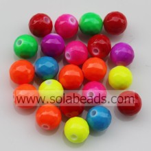 Transparent 8mm Acrylic Crystal Round Bubble Tiny beads