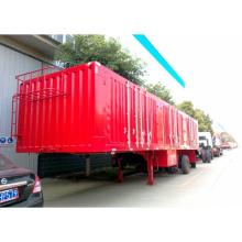 3 ejes remolque Hual transporte de carbón