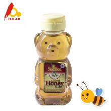 Productos puros de miel de abeja acacia