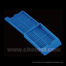 Cassetes para processamento / inserção de biópsias (31050105)