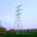 1000kv Doble Circuito Linear de Transmisión de Potencia Torre de Pole de acero