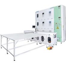 Machine de remplissage automatique de literie en duvet