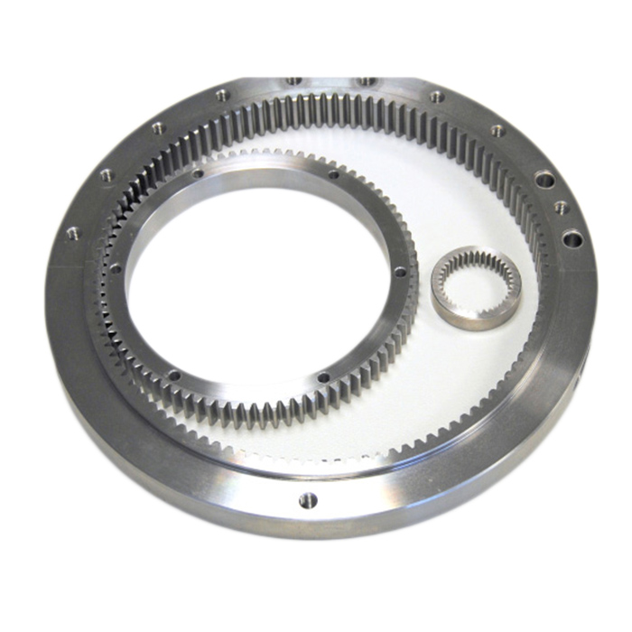 Custom Factory Steel Internal Gear with Polished Finish