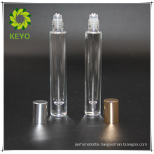 5ml 10ml best selling clear colored empty perfume cosmetic glass roll on bottle