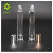 5мл 10мл лучшие продажи ясно покрашенные пустые косметические духи стеклянный крен на бутылке