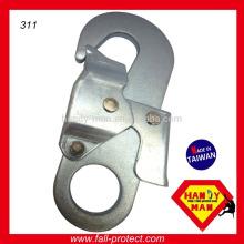 Gestempelt Großer Industrie-Metall-Stahl Doppel-Aktion Sicherheits-Snap Hook