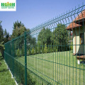 PVC Coated Triangle Bending Metal Wire Mesh Fence