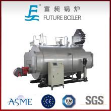 Caldera de vapor del nuevo gas / aceite del diseño de China, piezas de la caldera