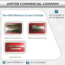 Langlebige Reismühle / Huller Whitener Bildschirm und Halter in verschiedenen Anhängen erhältlich