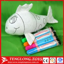 Juguetes educativos para niños juguetes lavables pintura de animales