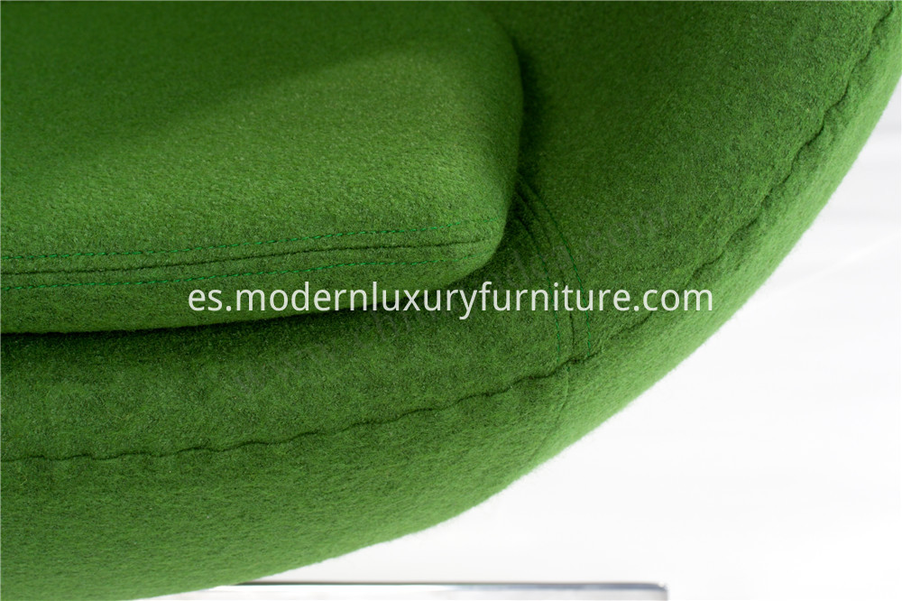 wool egg chair