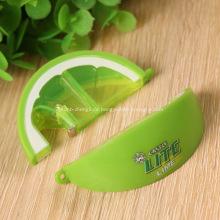 Werbe Zitrone geformte Flasche Öffner Schlüsselanhänger
