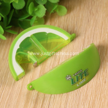 Promotional Lemon Shaped Bottle Opener Keyrings