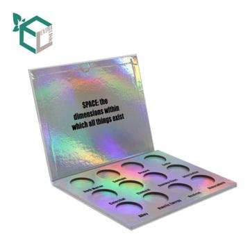 Logotipo personalizado y diseño de impresión Caja de sombreador de ojos de cartón