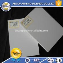 Placa de gesso branca do pvc de 1220mm x de 2440mm