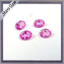 Top Quality #2 Pink Color Synthetic Ruby for Jewellery