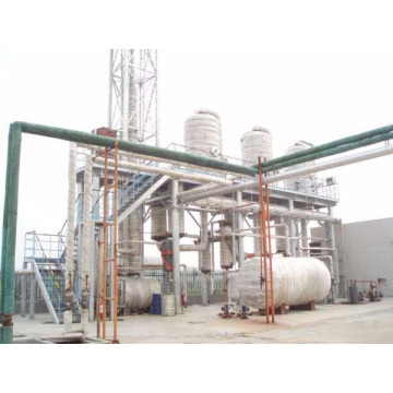 Multiple-Effect Evaporator for Landfill Leachate