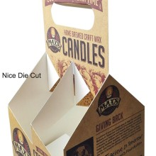 Luxury custom recycled candle box candle paper boxes