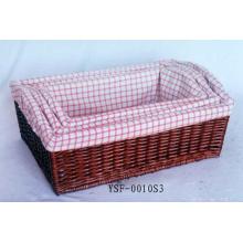 Ручная корзина для хранения плетеной корзины Eco (BC-ST1009)