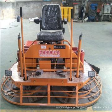 engine float machine concrete Ride-on Power trowel