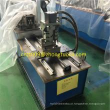 Ângulo de barra de aço que faz a máquina rolo do ângulo da barra que dá forma à máquina