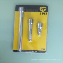 "1/2"" Dr.Socket Extension Bar sets 3PCS"