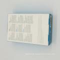 Faltbarer verpackender handgemachter Farbenpapierkasten für Förderung