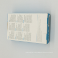 Caixa de papel artesanal de embalagem dobrável para promoção