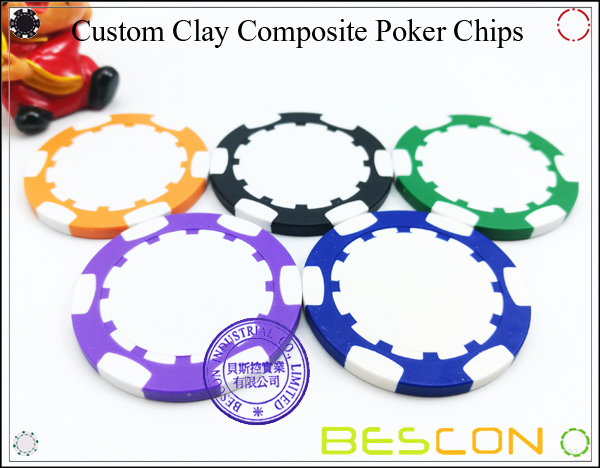 Bescon New Style Clay Chip with Custom Sticker-10