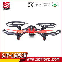 HOT&NEW Li Shi Toys 2.4G 4CH 6-Axis RC UFO Aircraft With led Light and Camera SJY-L6052W