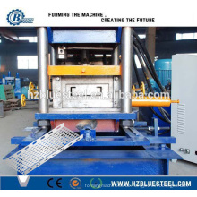 Highg Speed automatische Kabelrinne Plank Making Machine, Kabelrinne Rollenformmaschine