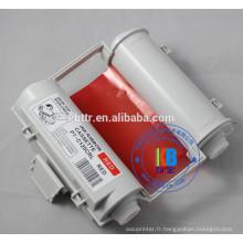 Ruban encreur rouge max bepop 120mm * 55m pour imprimante de machine de marquage de signe CPM-100HG3C