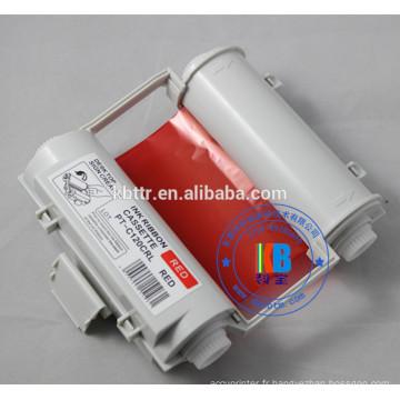 Ruban de couleur rouge caractéristique SL-R103rt pour imprimante Max Bepop CPM-100HG3C