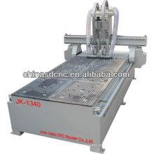 Máquina de madeira do router do CNC do trabalho do ATC JK-M25