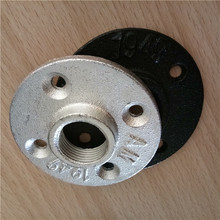 malleable cast iron 3/4 floor flange galvanized
