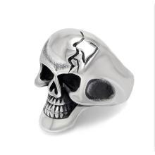 Кольца горячая готический череп ювелирные изделия из нержавеющей стали мужские