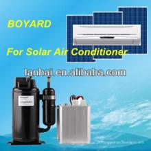 DC 48v carro de energia solar condicionador de ar dc ar condicionado condicionador de ar de refrigeração aircon condicionador de ar para caminhão cama barramento