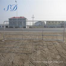 Porte de porc / mouton de 5 barres - porte de panneau galvanisé de bétail de ferme et de ferme de bétail de ferme de Tarter