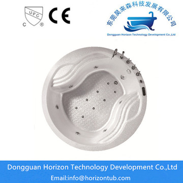Drop In Acrylic Round Bathtub Perendaman